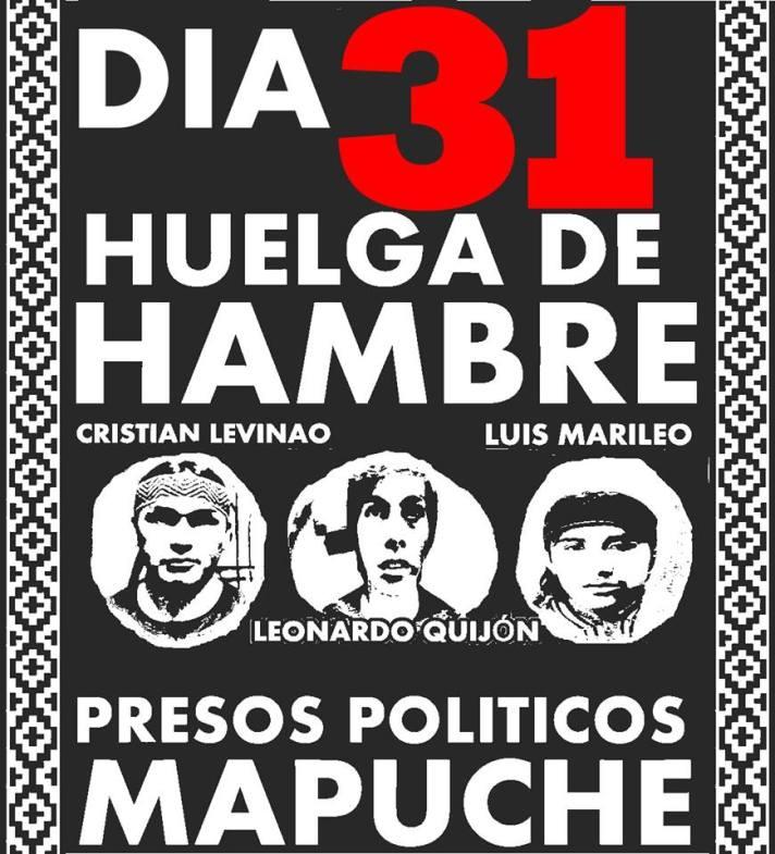 No Chile de hoje.. povo Mapuche oprimido