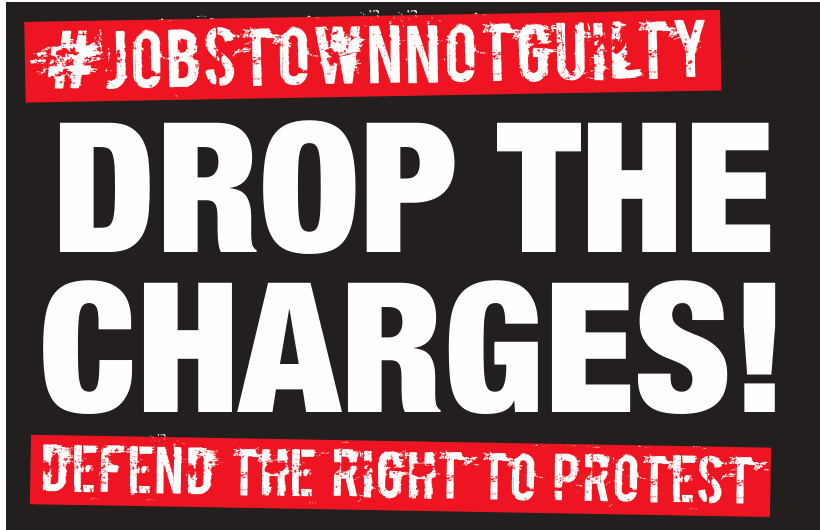 Jobstown Not Guilty leaflet