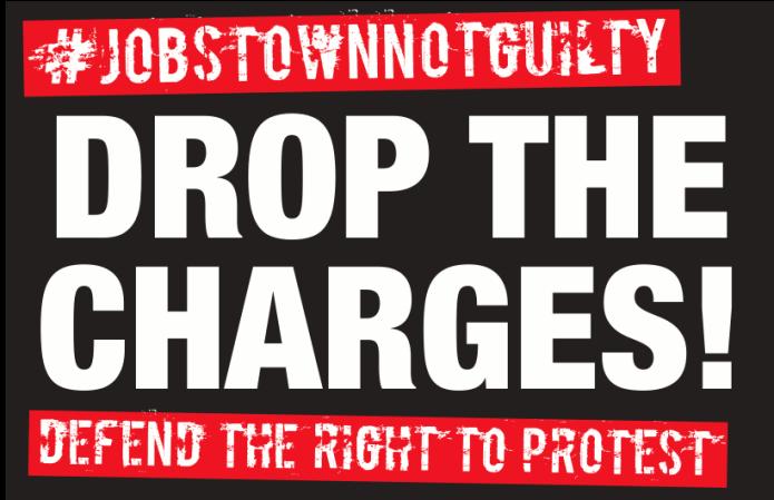 Jobstown Not Guilty leaflet